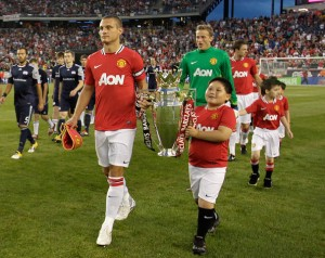 When Manchester United came to town in 2011, red-clad fans were probably in the majority.