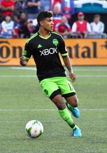 """DeAndre Yedlin 2014 US Open Cup"" by Abhattarai7 - Own work. Via Wikipedia."